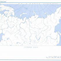 Контурная карта России