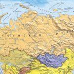 Географическое положение России.