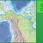 Физико-географические объекты Северной Америки